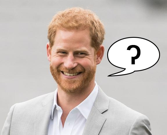Prince Harry doesn't always pronounce his t's