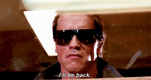 """How to do accents: mimicking famous people is good accent practice. Say """"I'll be back!"""" like Arnold Schwarzenegger."""
