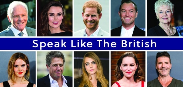 More examples of famous Britons who speak with a Standard English accent.