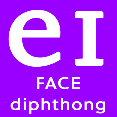 RP British Accent Training: the keyword for /eɪ/ is 'FACE'