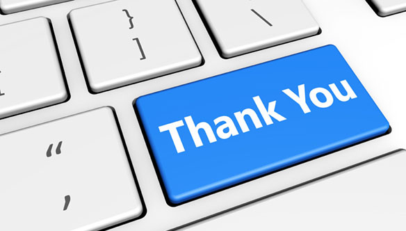 """""""Thanks"""" is a commonly used email sign off that is used in casual business communication."""